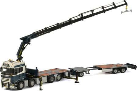 R Streamline Highline Riged Flatbed Truck + Palfinger 7800.2