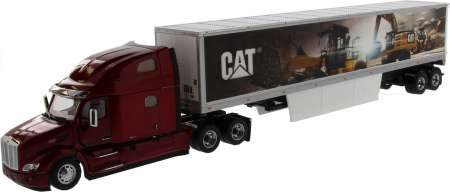 579 Day Cab w/Cat Mural Trailers