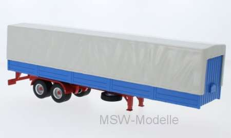 Truck Trailer with Canvas